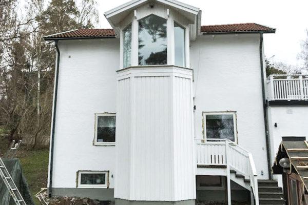 Moderna Gruppen renovering på Lidingö